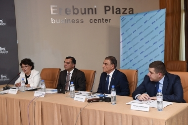 A public discussion on the topic of the 'RA draft law on social work' took place at Erebuni Plaza BC - Photolure News Agency