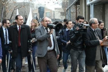'Elq' Alliance holds a pre-election campaign in Zeytun District - Photolure News Agency