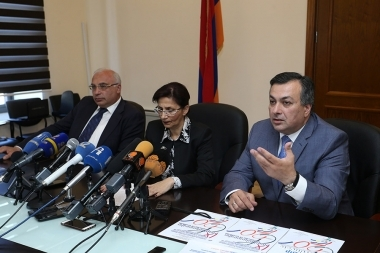A press conference dedicated to the launch of 'Renaissance' international contest-festival took place at the RA Ministry of Culture - Photolure News Agency