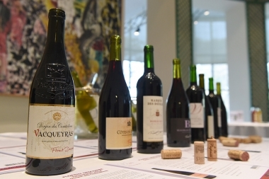 French Embassy in Armenia, Business France joint with the French Agency for International Development and Exportation organized a professional tasting French wines and alcoholic beverages within the framework of 'Tastin 'France' action - Photolure News Agency