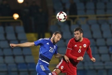 Friendly football match between Armenia and Cyprus took place at Vazgen Sargsyan Republican Stadium - Photolure News Agency