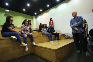 Hollywood's famous actor John Malkovich paid a visit to the 'TUMO' Center for Creative Technologies - Photolure News Agency