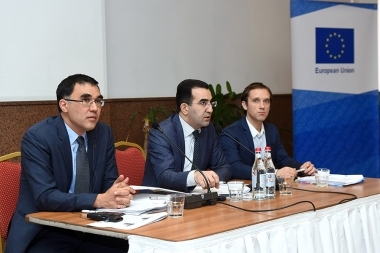 RA Ministry of Economic Development and Investment and the control authority of the European Neighborhood and Partnership Instrument Project organized a workshop at Congress Hotel - Photolure News Agency