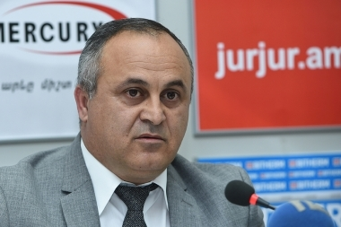 Head of the Assessment and Testing Center Ara Ispiryan gave a press conference in Armenpress press club - Photolure News Agency