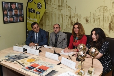 A press conference ahead of the 'SunChild' 7th International Environmental Festival took place in 'Article 3' press club - Photolure News Agency